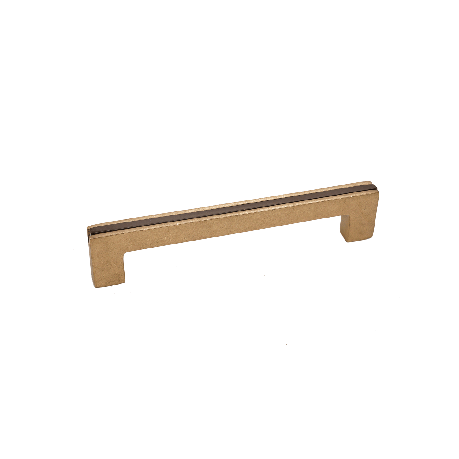 Angle Two Tone Banded 3 Kitchen Cabine Pull Handle Champagne Espresso Finish Contemporary Style Kitchen Kitchen Cabinet Styles Contemporary Gates
