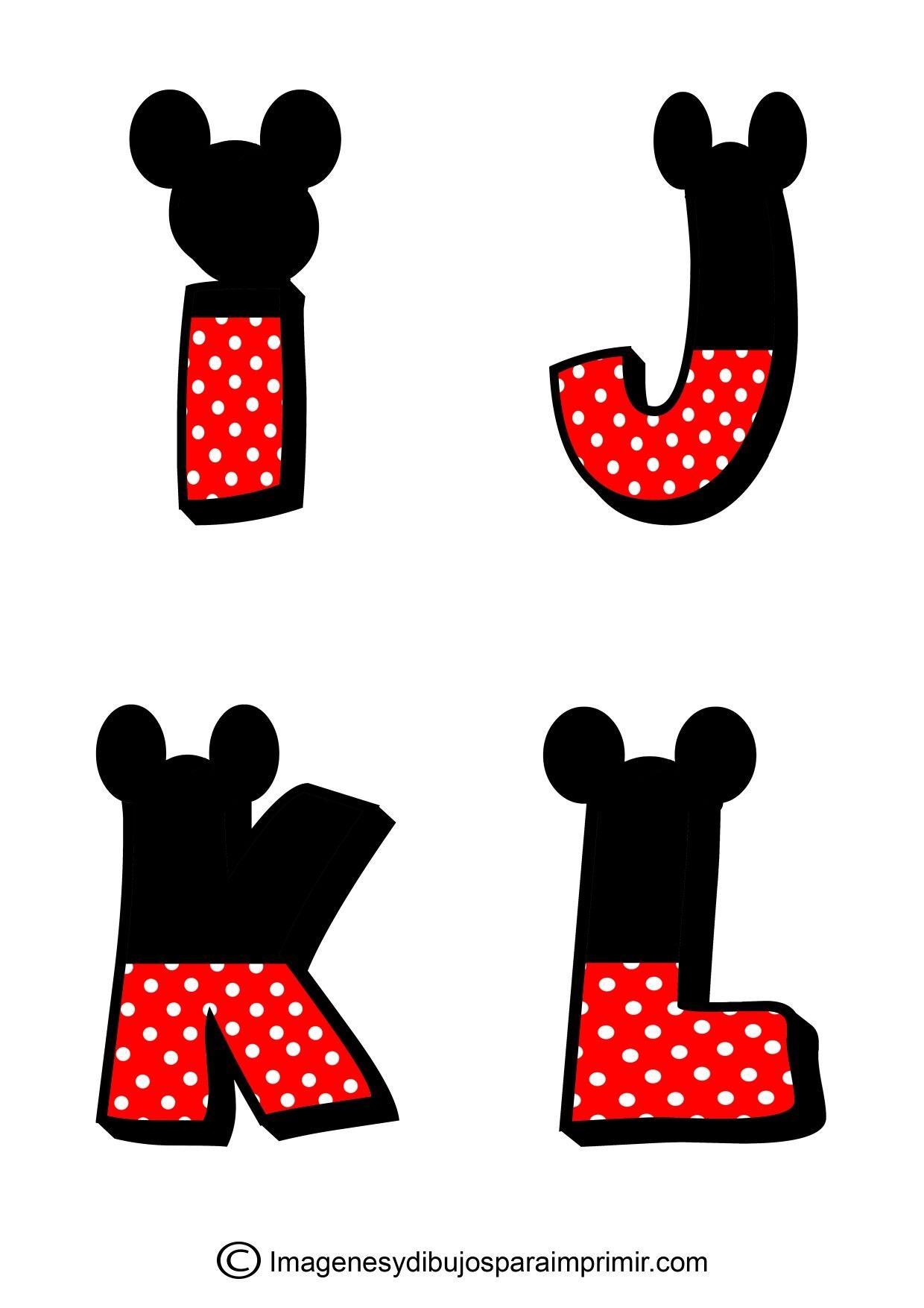 Pin de Floricel Lopéz en mickey | Pinterest | Mickey mouse letters ...
