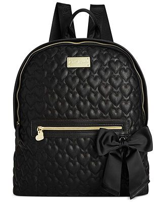 a0834b615a Betsey Johnson Quilted Backpack  My new backpack for Nursing ...