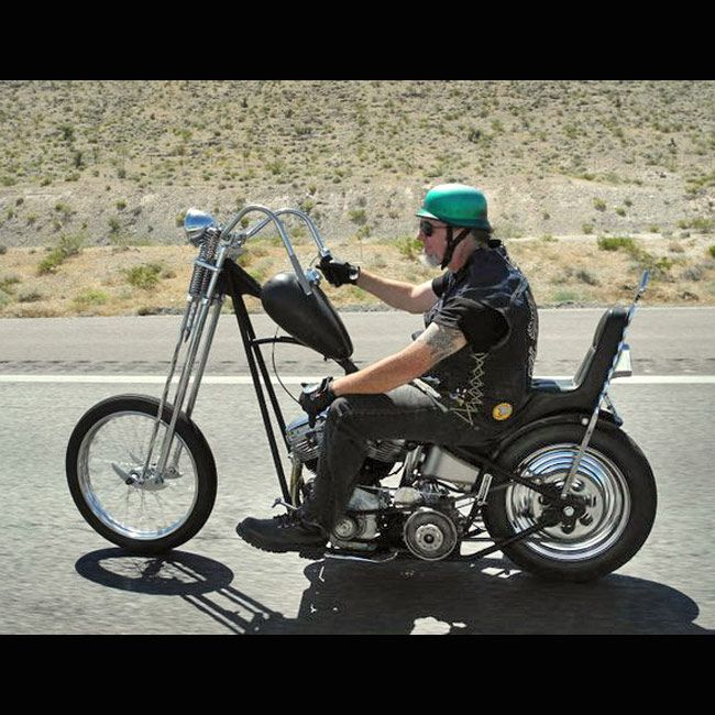 What Do You Call This Style Of Motorcycle? Picture 1 Of 2 Of What Is Kind Of A Chopper With Long