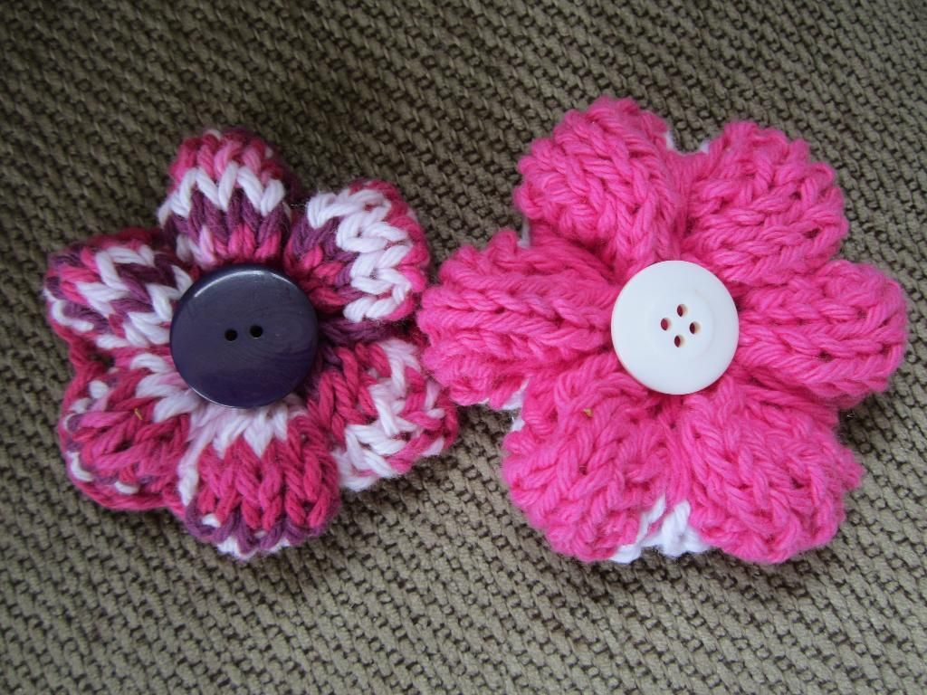 The craftsy knitting daily challenge knit flowers flower and the craftsy knitting daily challenge bankloansurffo Images