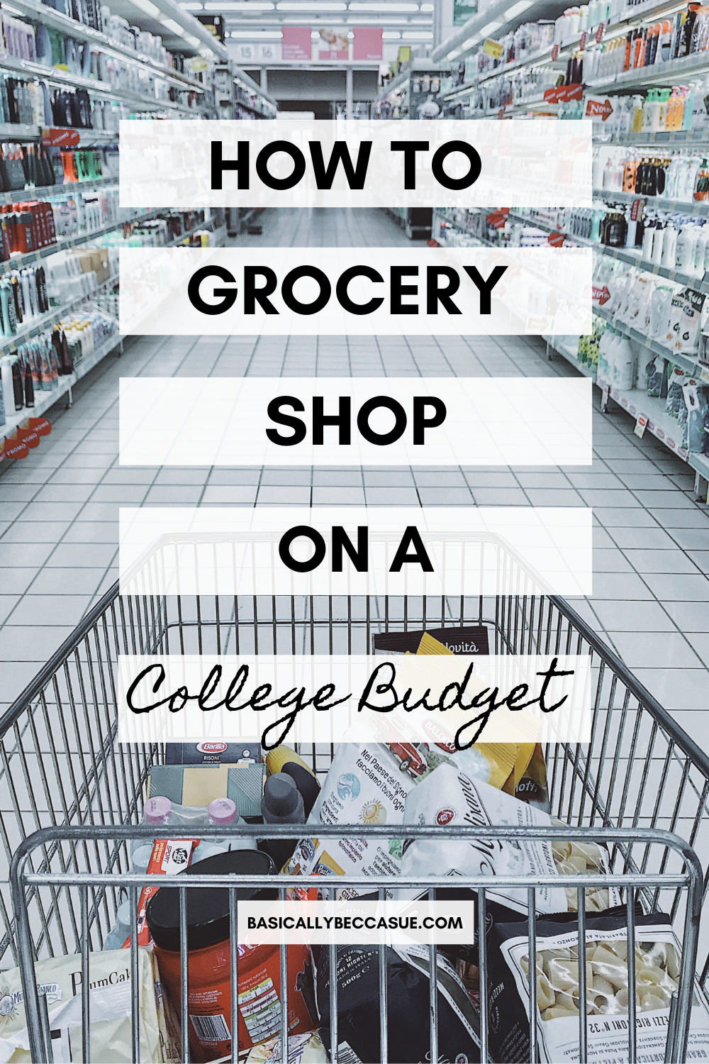 Crazy Ways To Save Money Grocery Shopping On A Bud
