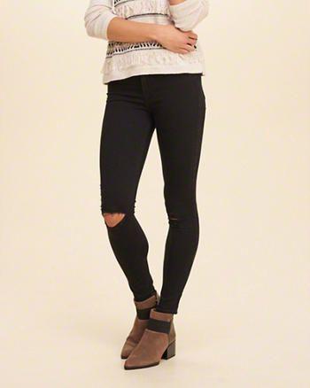 hollister dark jeans
