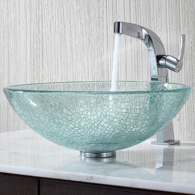 Bathroom Sinks Glass Bowls cool 40 catchy and dazzling bathroom sinks  modern-bathroom