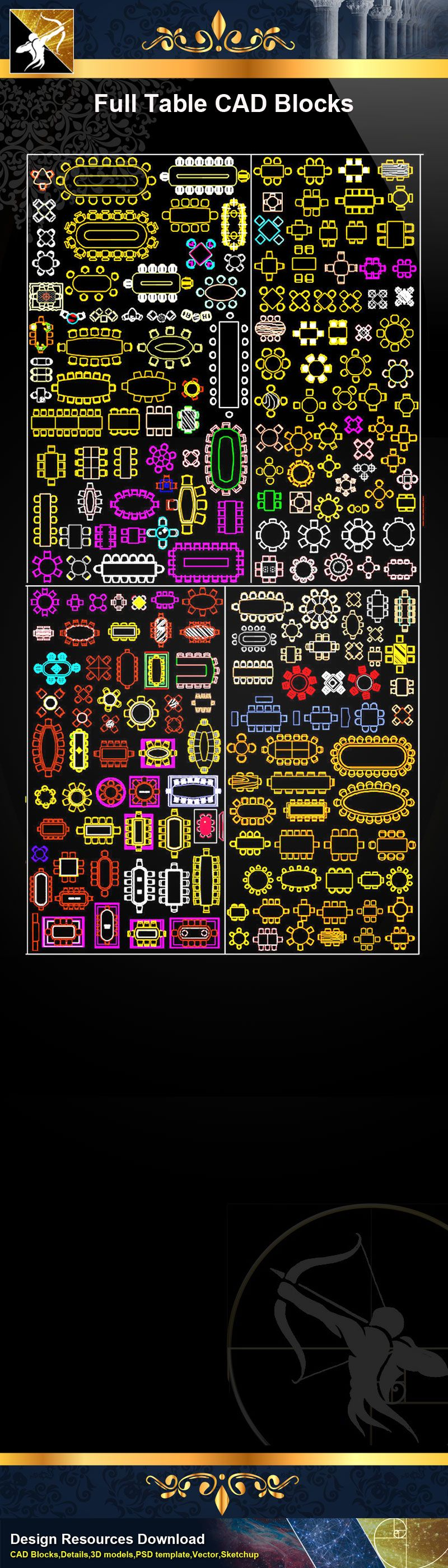 Pin on 【Autocad Blocks,Autocad圖塊,AutocadBlöcke,フリーオートキャド