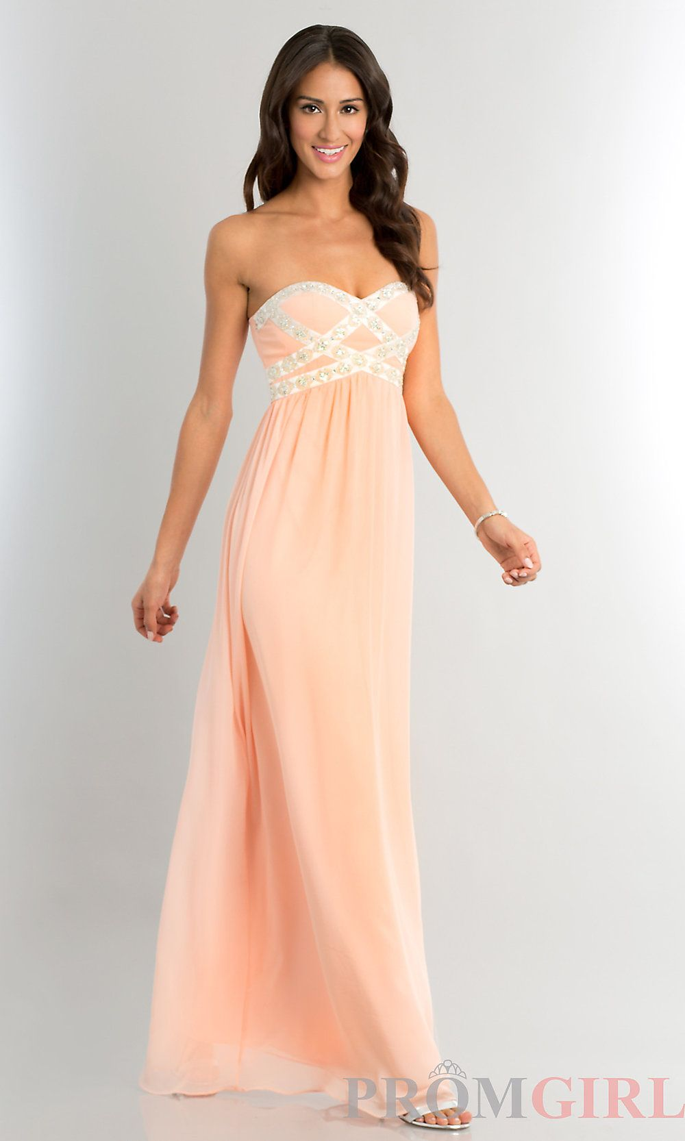 Cheap Strapless Prom Gowns, Cheap Long Prom Dresses- #prom #dresses ...