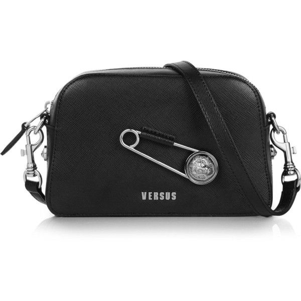 3df8d41525 Versus Versace Safety Pin Cross-Body Bag ( 395) ❤ liked on Polyvore  featuring bags
