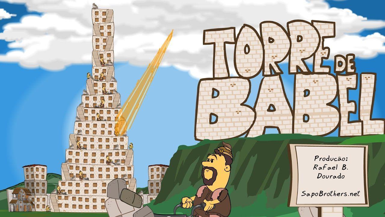 Torre De Babel Em Desenho Animado Em Portugues Desenho Infantil