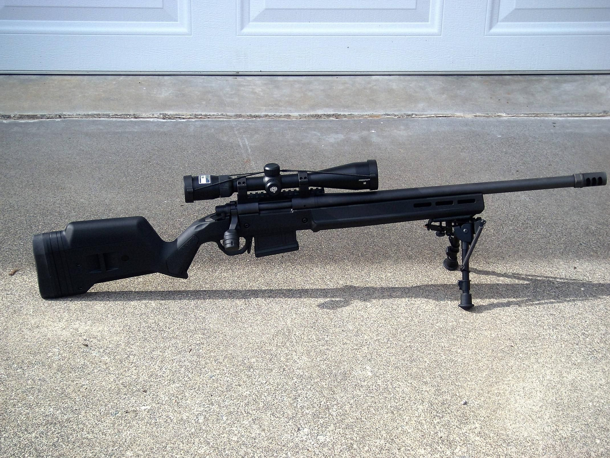 Remington M700 In 7 62mm W Magpul Stock 2 Are Stored In The