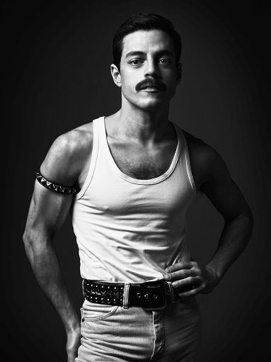 Rami Malek as Freddie Mercury ... #perfect