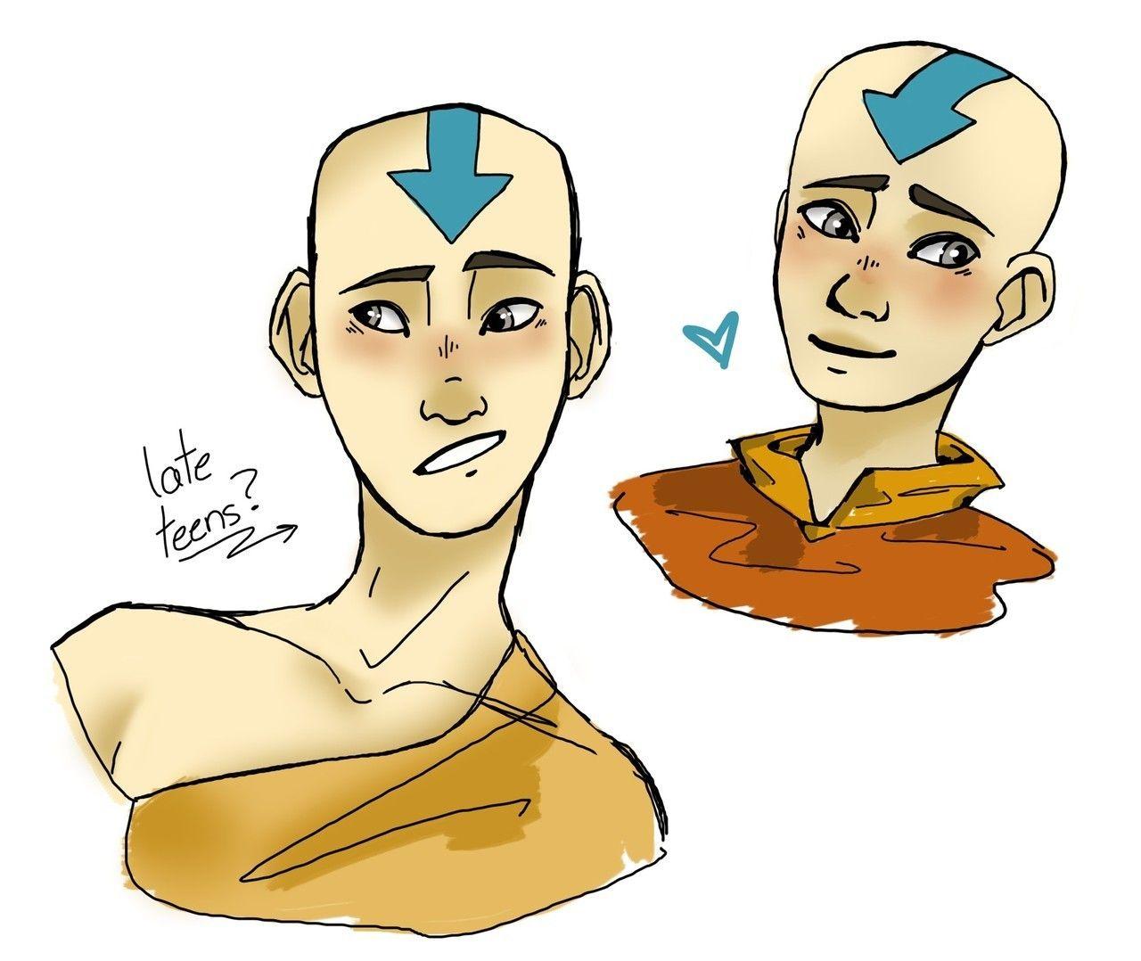 Aang in his Late Teens in 2020 Avatar the last airbender