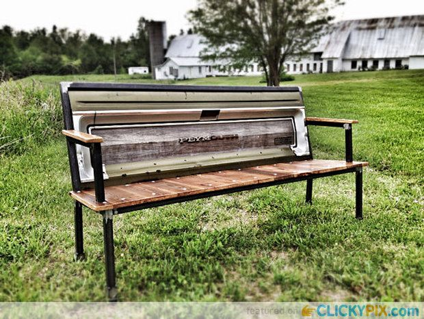 Prime 41 Diy Truck Tailgate Benches Upcycle A Rusty Tailgate Caraccident5 Cool Chair Designs And Ideas Caraccident5Info