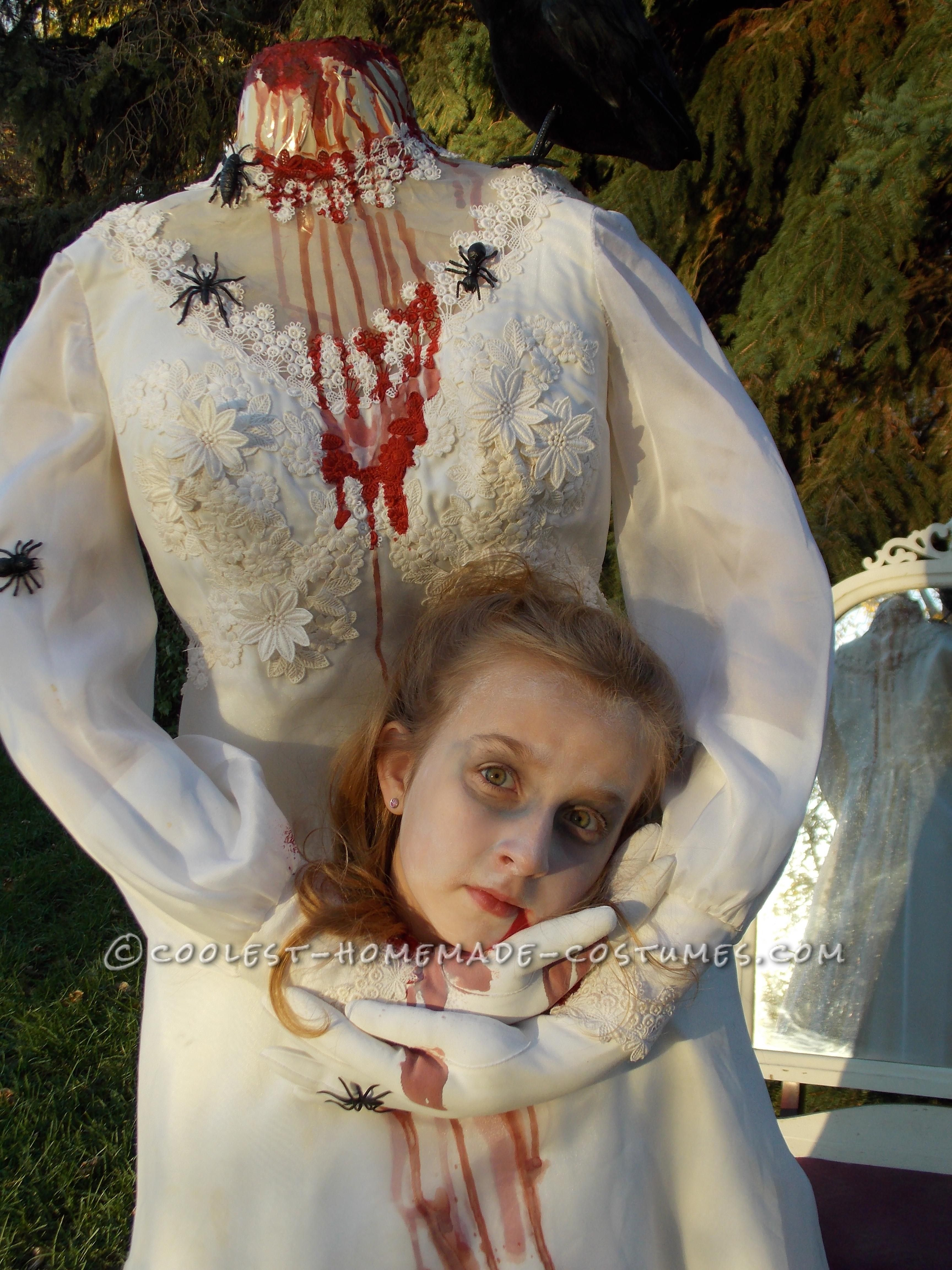 Haunting Headless Bride Costume for a 9-Year-Old Girl | Bride ...