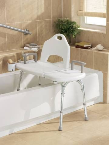 Home Care Glacier Transfer Bench Transfer Bench Bath Chair For