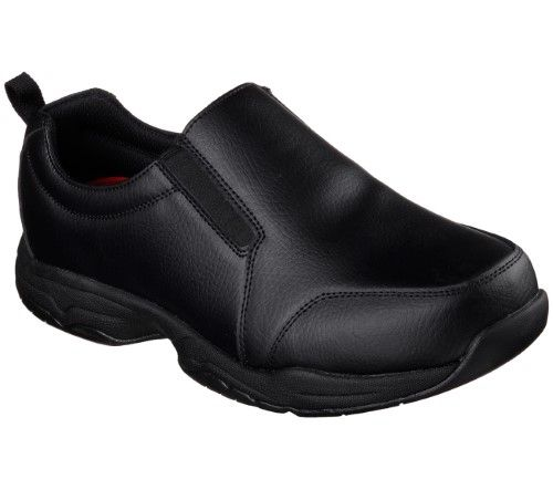 6a5a78023d0 Skechers 77073 BLK Men's Felton-Camak SR Work, Size: 11, Black ...