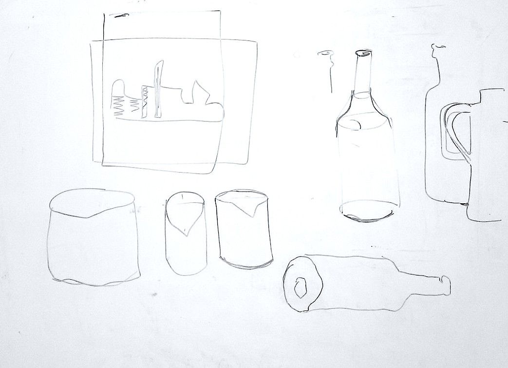 #teckning kursen startar; jag illustrerar några idéer på whiteboard #kurs #gaborberger #rita #bild #selected