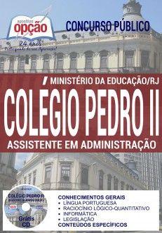 Apostila Colegio Pedro Ii Assistente Em Administracao Apostila