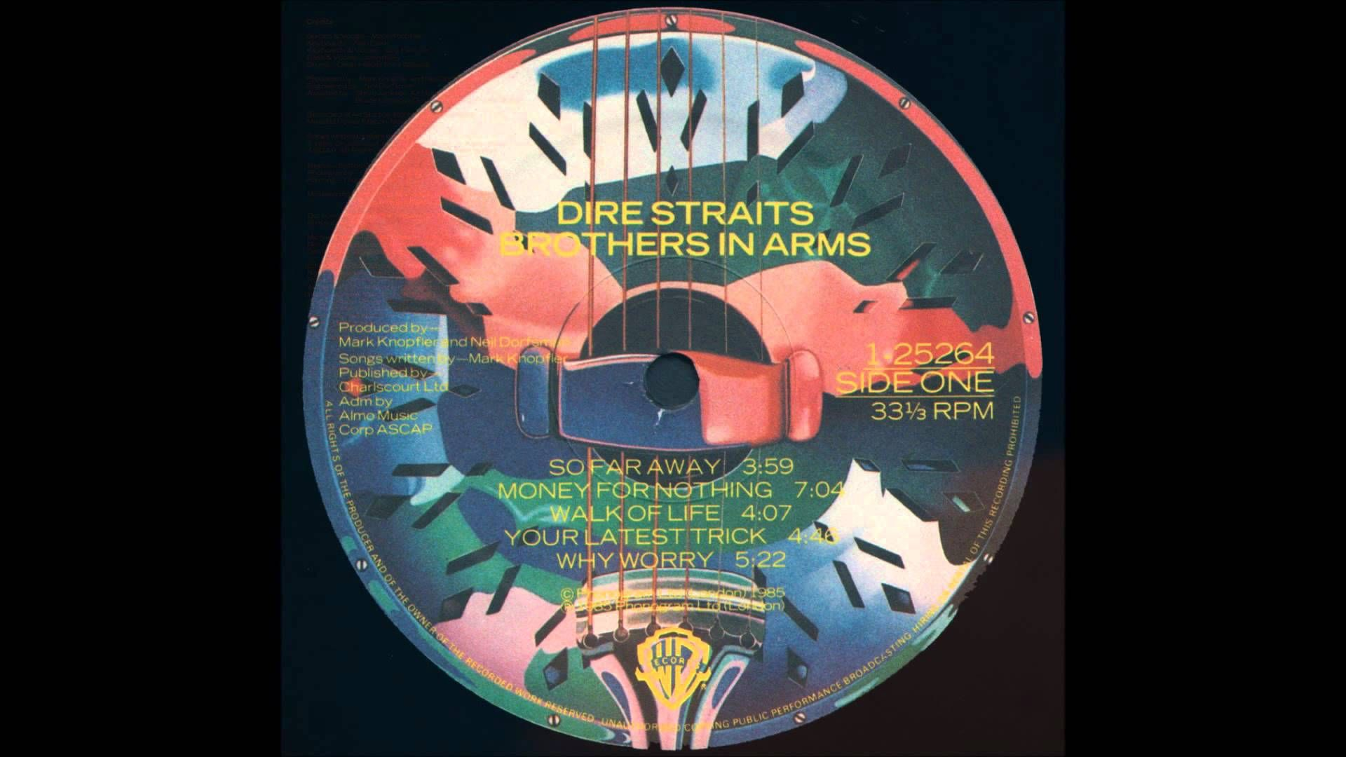 Dire Straits Brothers In Arms Full Album Vinyl Via Youtube Dire Straits Brothers In Arms Greatest Songs