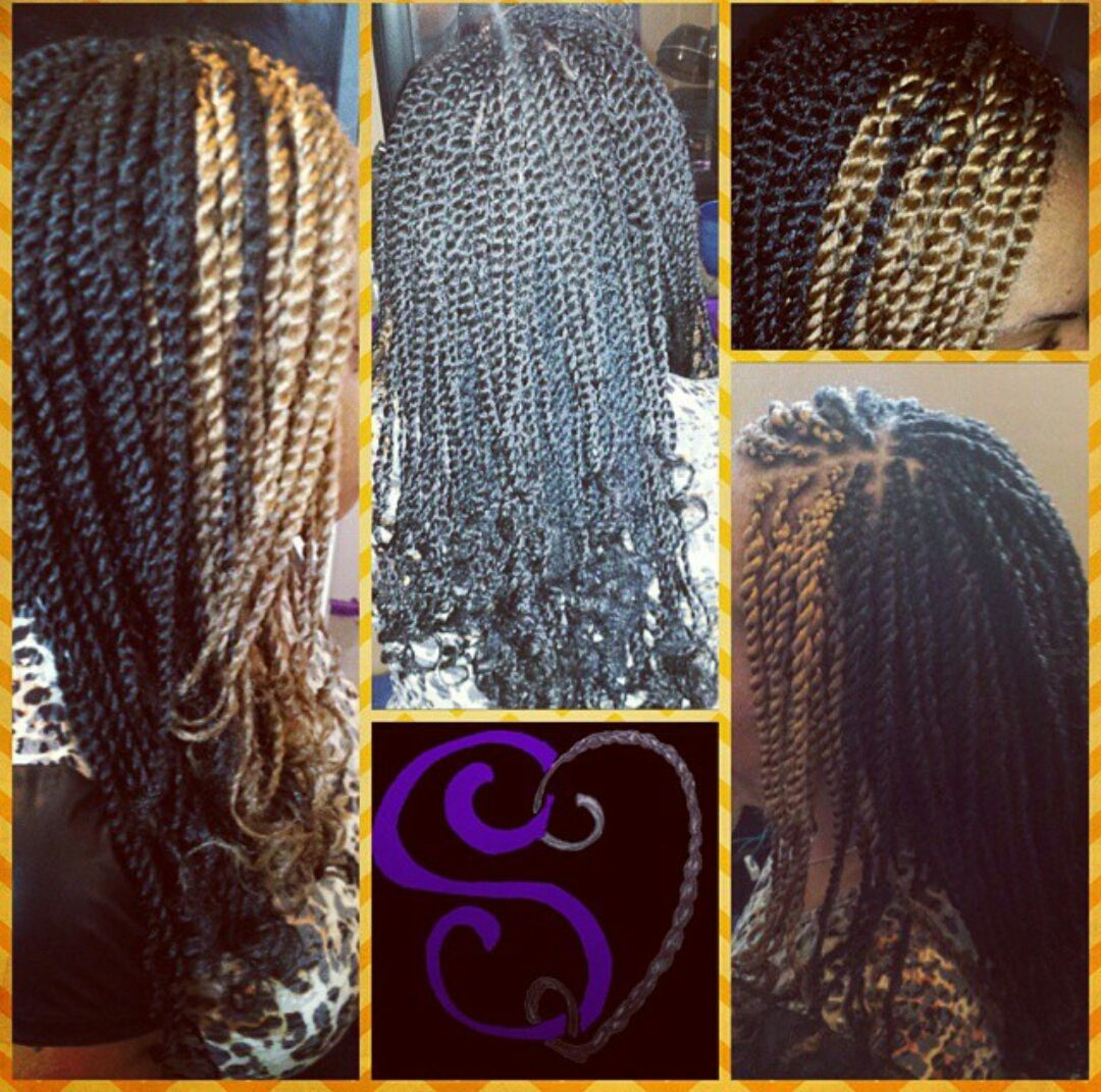 Braids and twists shared by stacy beach twisted braid locs and
