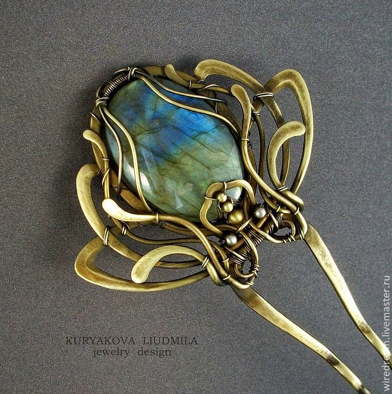 de Cor\'s Handmade Jewelry: Handmade Wire Hair Pins by Kuryakova ...