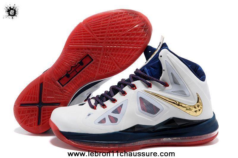 542244-100 Plus United We Rise Style Nike Lebron X 10 Magasin