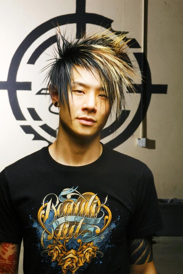 Excellent 1000 Images About Emo Hairstyles For Men On Pinterest Emo Hairstyle Inspiration Daily Dogsangcom