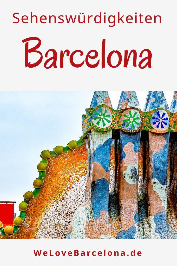 Alle Sehenswürdigkeiten & Museen in Barcelona ♥ Mit allen Infos
