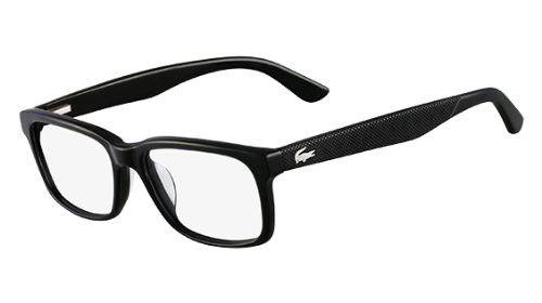 a12d9879df4 LACOSTE Eyeglasses L2672 001 Black 52MM in 2018