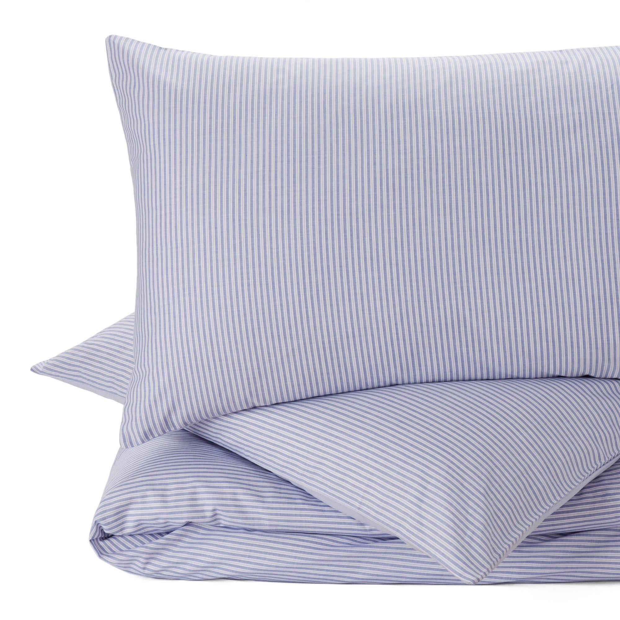 Ein Hoch Auf Streifen Fur Unsere Perkal Bettwasche Izeda Verweben
