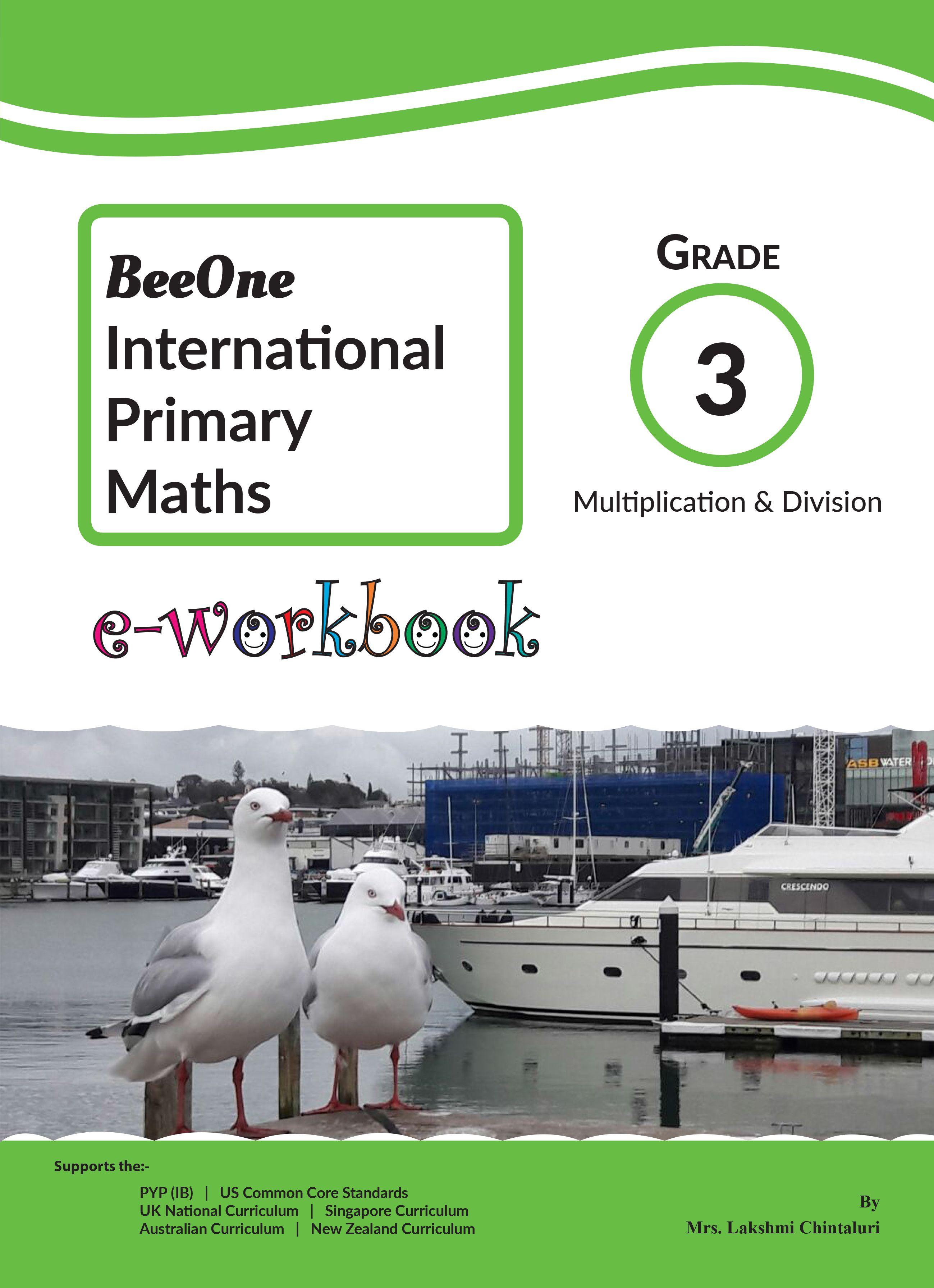 Multiplication & Division EWorkbook for just 1, Grade 3