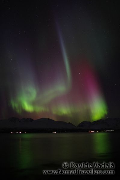 Amazing_Shape_Northern_Lights_Norway_Fjord by NomadTravellers.com, via Flickr