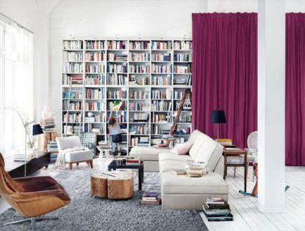 Ikea Billy Inspiratie : Ikea billy inspiratie woonkamer estantería salón
