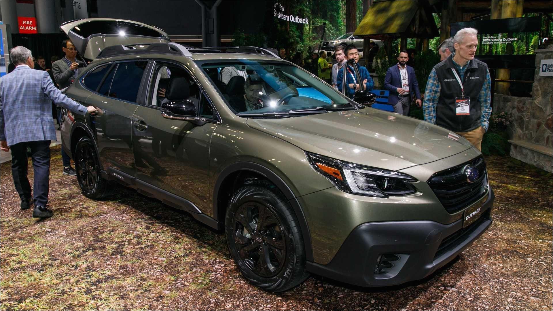 New York Auto Show 2020 Subaru