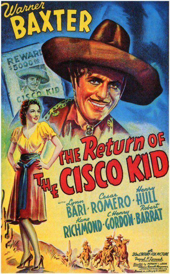 The Return Of Cisco Kid Movie Poster