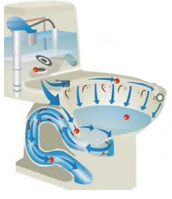 Automatic Bubble Toilet Cleaner Whateveryoubuy Toilet Cleaner Toilet Bowls Toilet Bowl