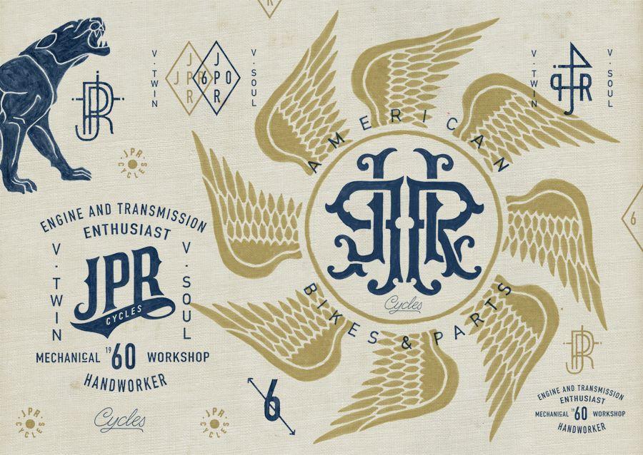 BMD Design / JPR Cycles Sick designs, Badge design