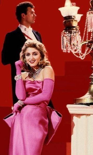 On Set Of Material Girl Madonna Material Girl Material Girls