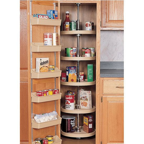kitchen pantry lazy susan cabinets home depot | Door Organizer ...