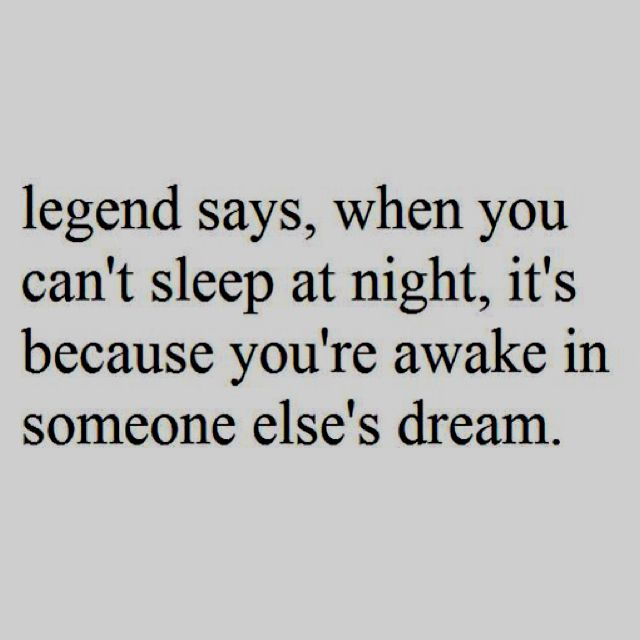 I must have been the main person in someone's dream last night then!