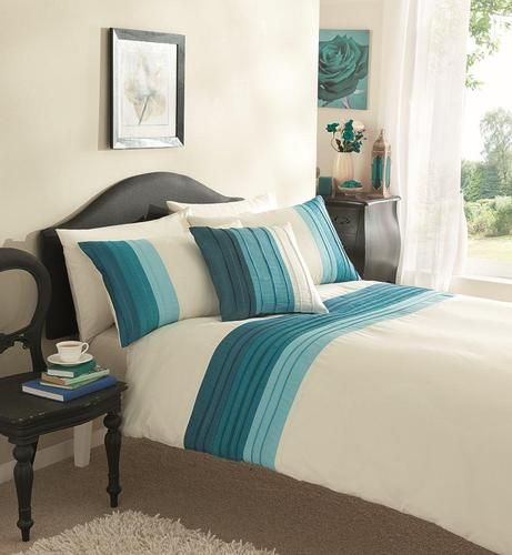 cream teal duvet set bedrooms pinterest duvet sets duvet and teal. Black Bedroom Furniture Sets. Home Design Ideas