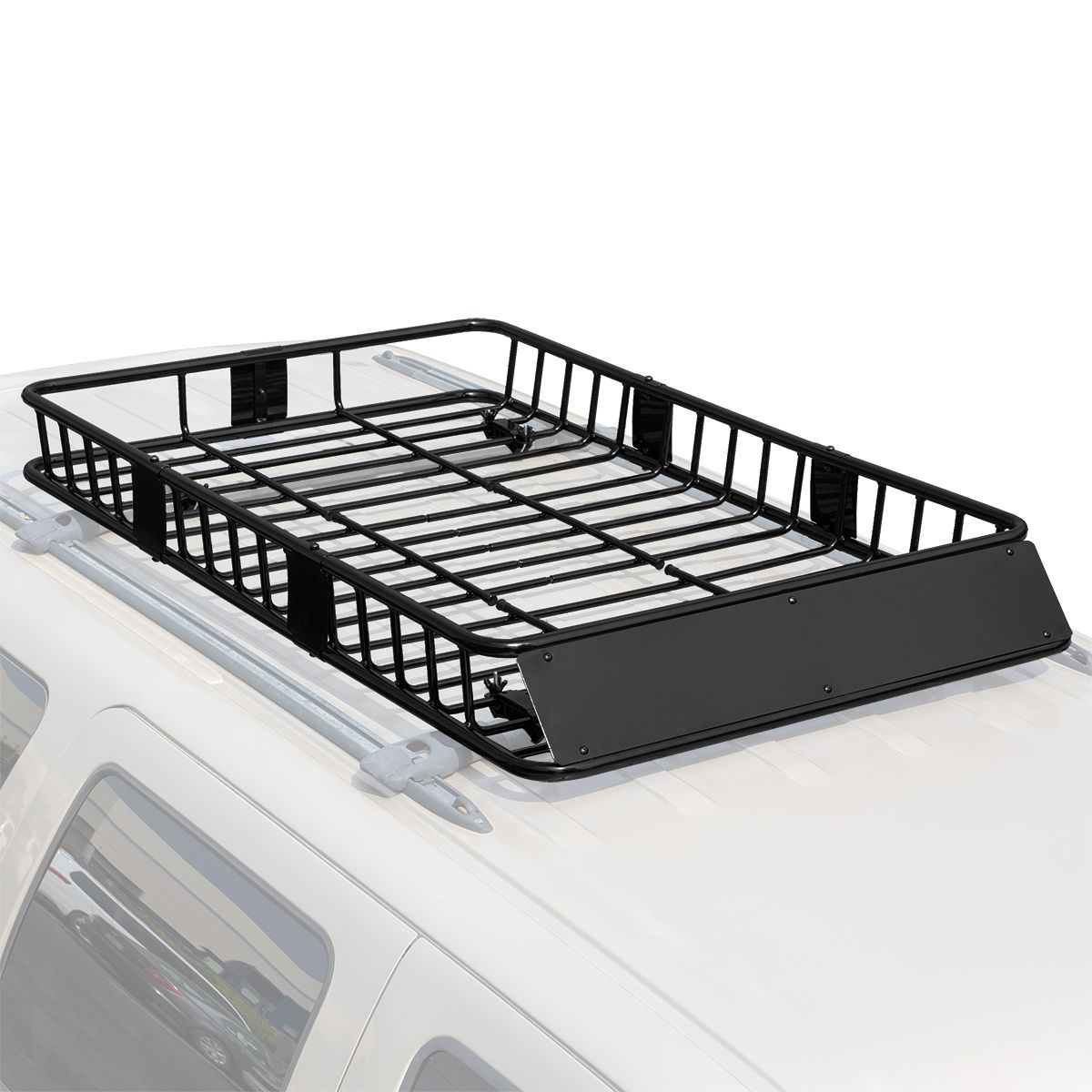 Stark 64 Universal Roof Rack Cargo Extension Car Top Luggage Holder Large Carrier Basket Walmart Com In 2020 Roof Rack Roof Basket Top Luggage
