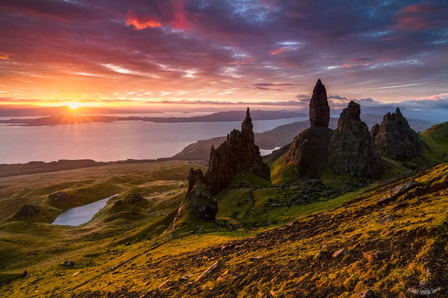 The old man of Storr (Scotland)