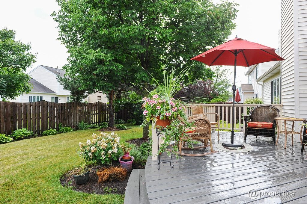 Traditional Deck with Fence  Raised beds in Grayslake, IL Zillow