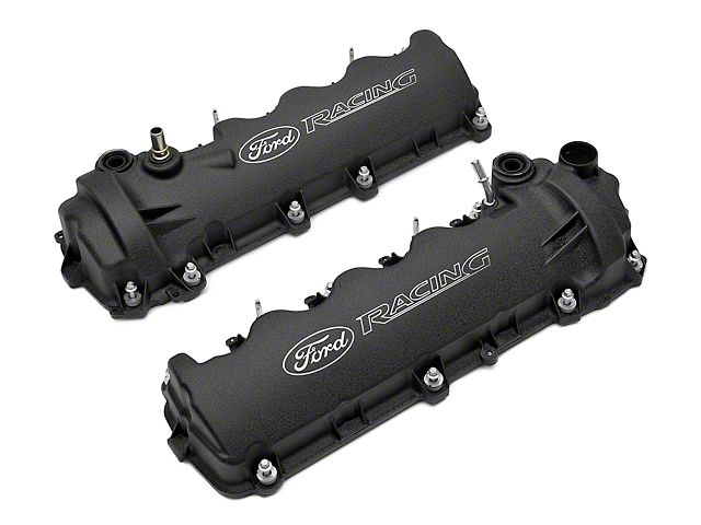 Ford Racing Laser Etched Valve Covers Black 05 10 Gt Valve