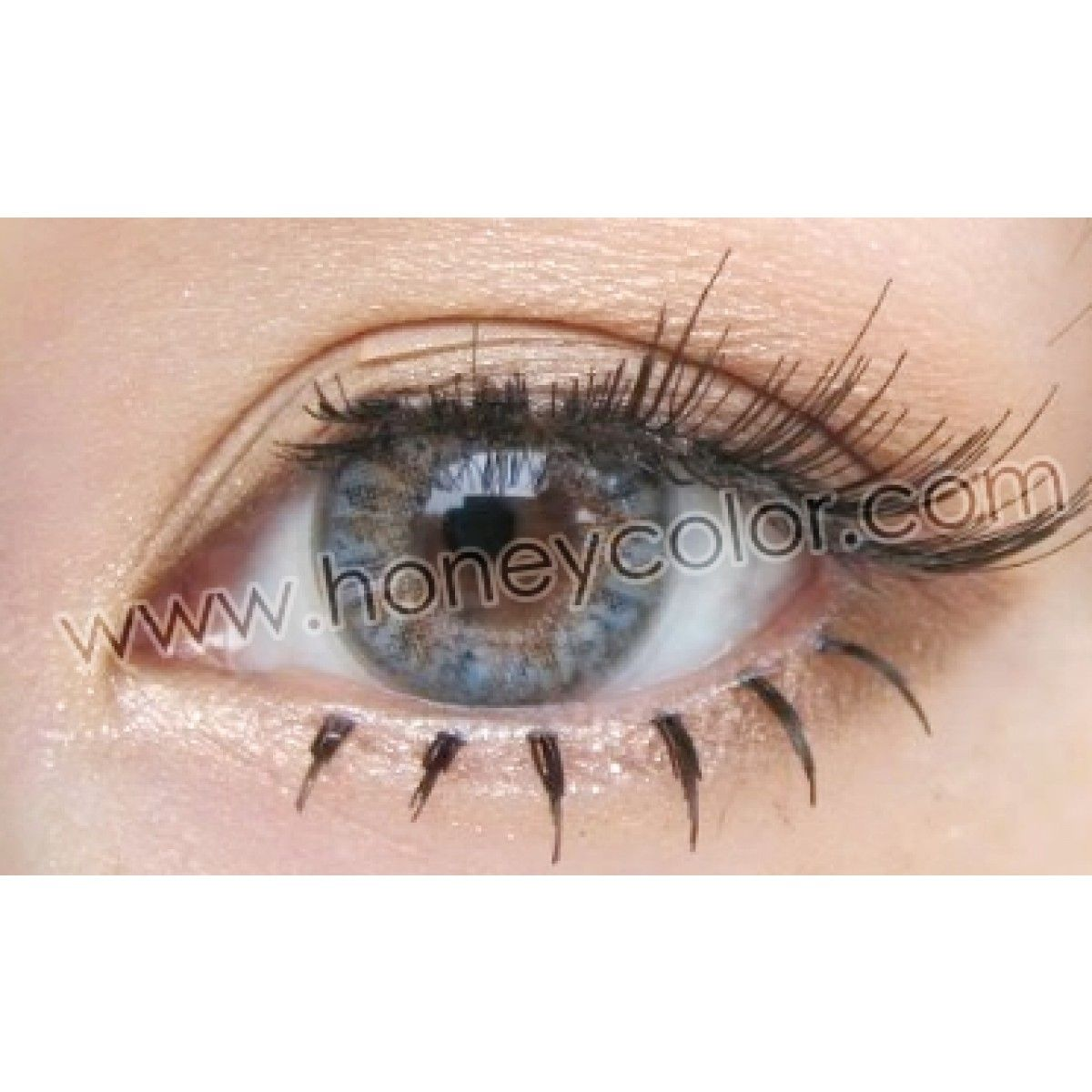 Neo 4 Tone Winter Grey Quarterly With Images Lucky Clover Contact Lenses Colored Colored Contacts