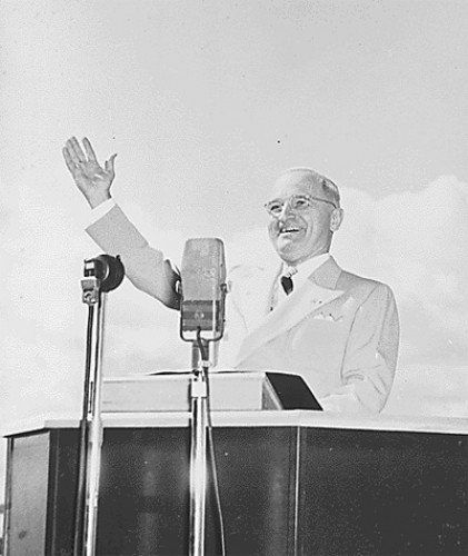 President Truman in Puerto Rico (National Archives) February 21, 1948