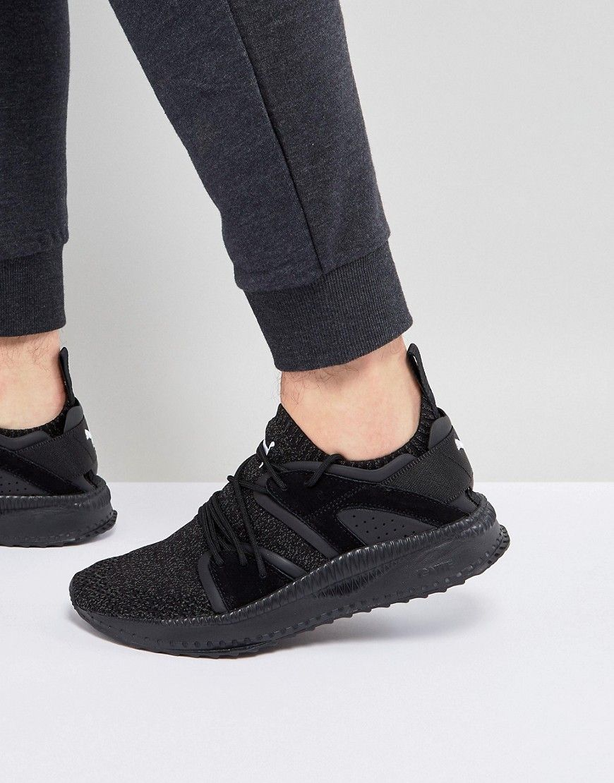 ca9818f17ed PUMA TSUGI BLAZE EVOKNIT SNEAKERS IN BLACK 36440801 - BLACK.  puma  shoes