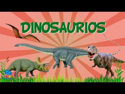 Youtube Dinosaurios Para Niños Dinosaurios Videos Educativos