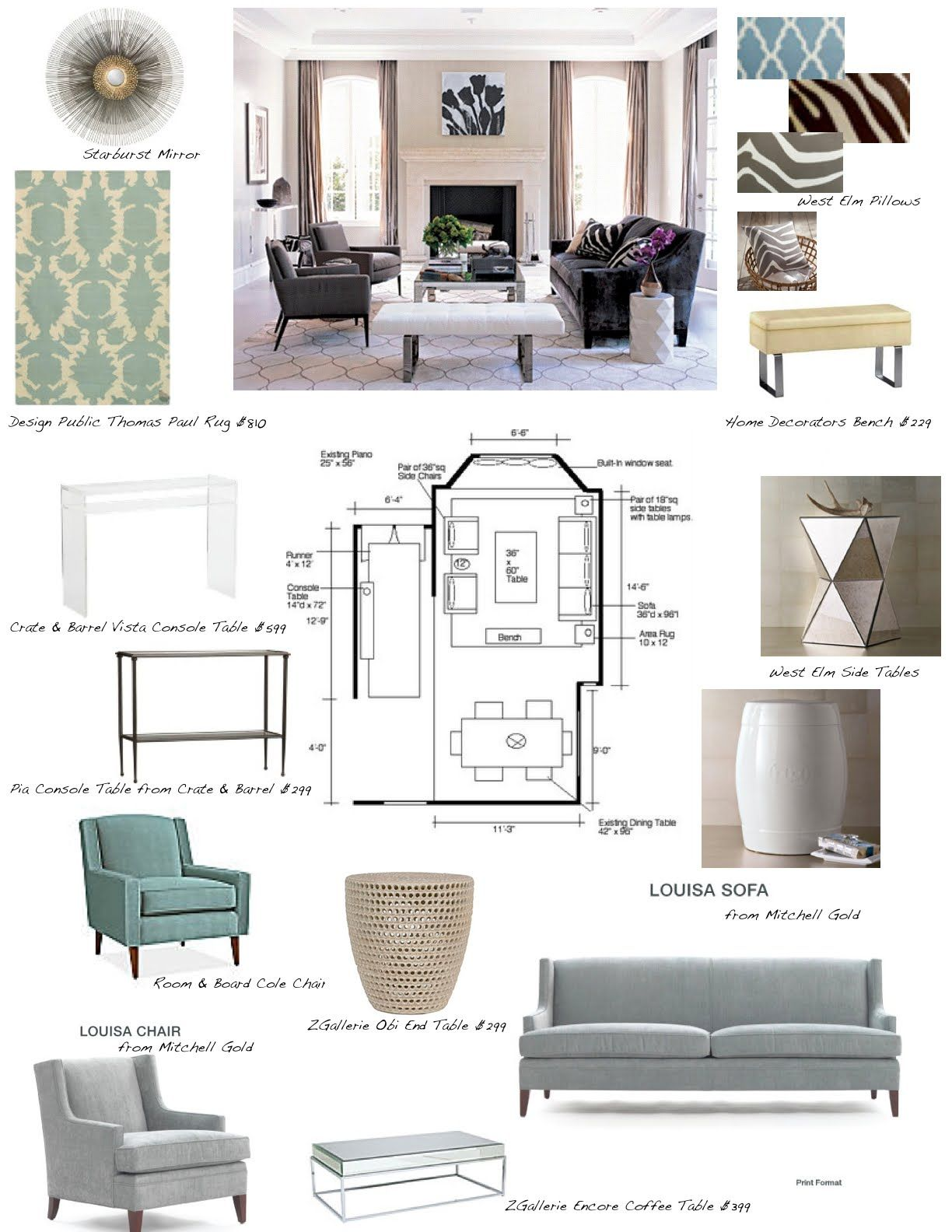 Jill Seidner Interior Design $450 Flat Rate Per Room Interior