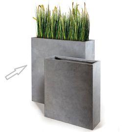 bac rectangulaire haut en fibre de terre ciment fonc l80 h92 garden pinterest fibre. Black Bedroom Furniture Sets. Home Design Ideas
